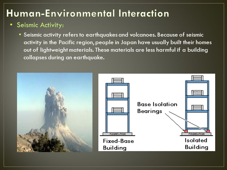 Today, human activities threaten many of Earth s natural processes.