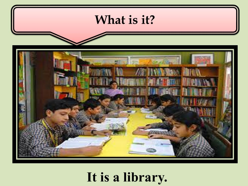 Who conducts the library? A A A librarian conducts the library.