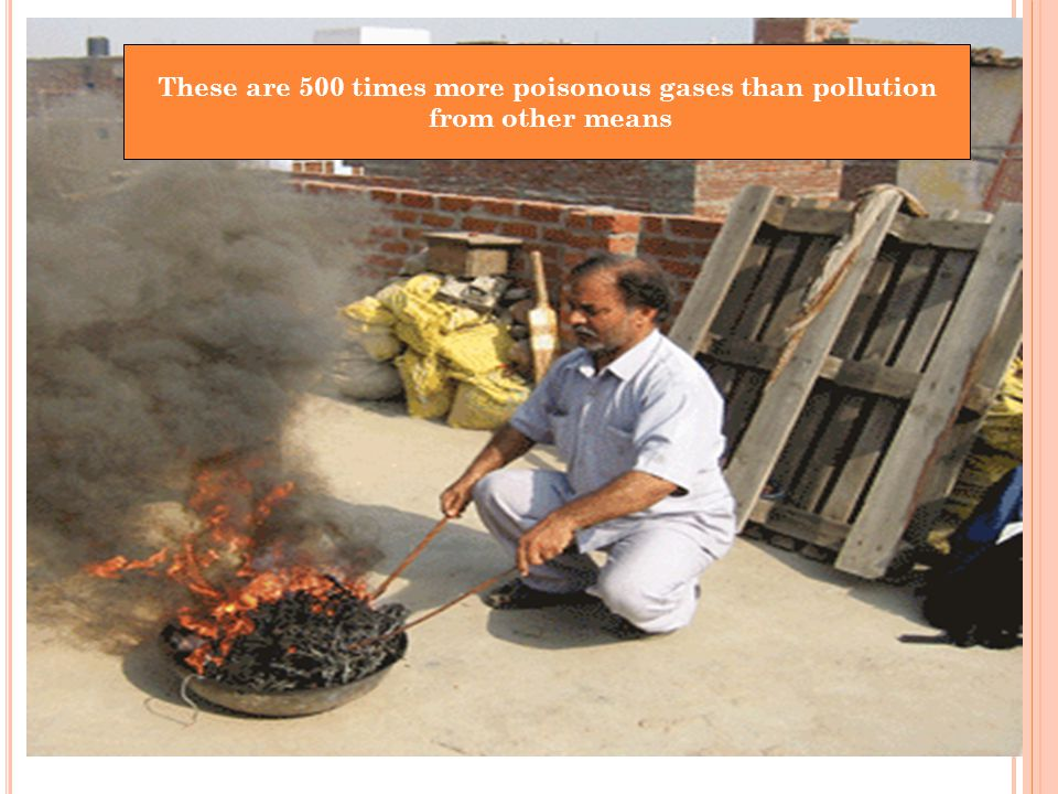 These are 500 times more poisonous gases than pollution from other means
