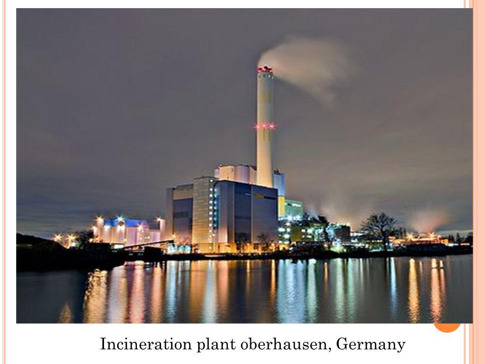 Incineration plant oberhausen, Germany