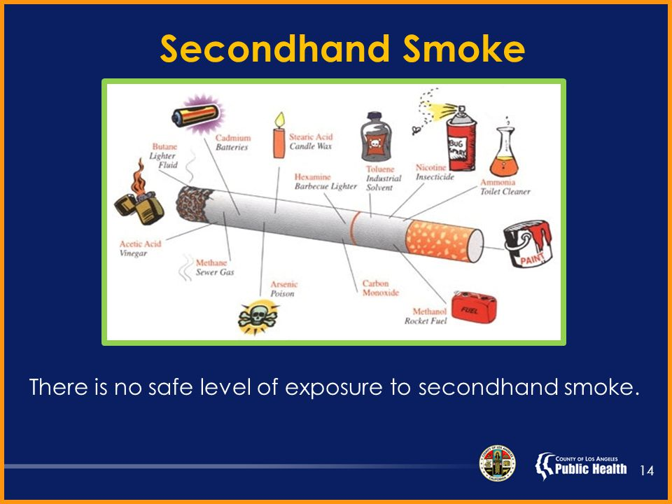 Question. True or False. Secondhand smoke contains more than 7,000 chemicals.