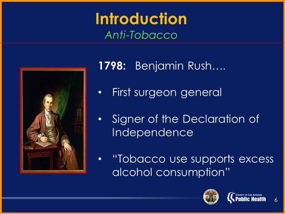 1881: Cigarette machine 1882: Ten million cigarettes sold 1887: One billion cigarettes sold 5 Introduction