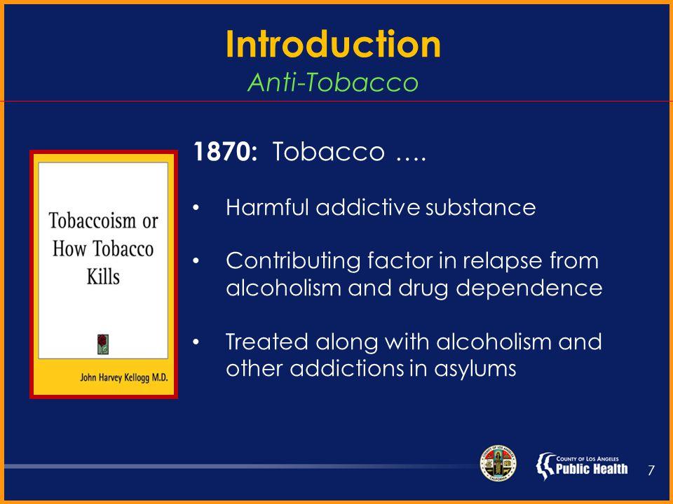 Anti-Tobacco 6 1798: Benjamin Rush….