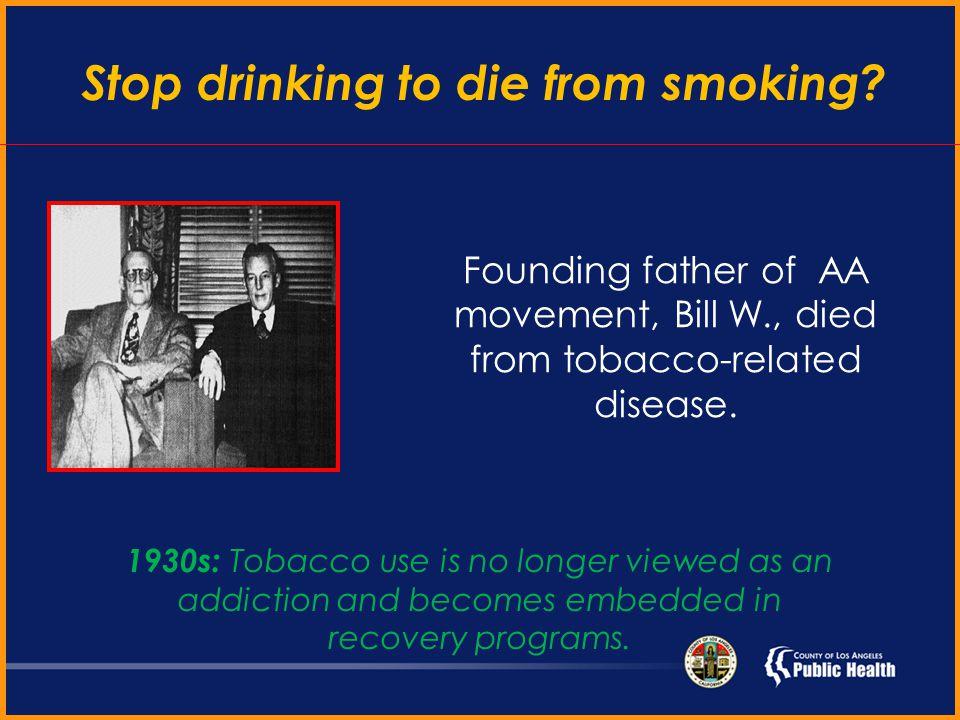 Introduction Anti-Tobacco 7 1870: Tobacco ….