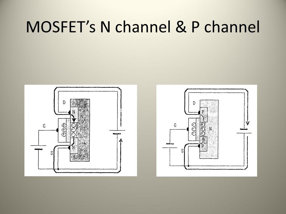 MOSFETs N channel & P channel