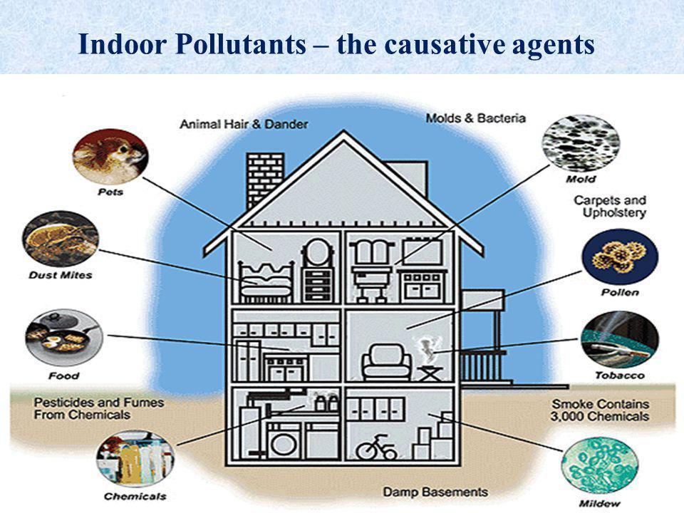 Indoor Pollutants – the causative agents