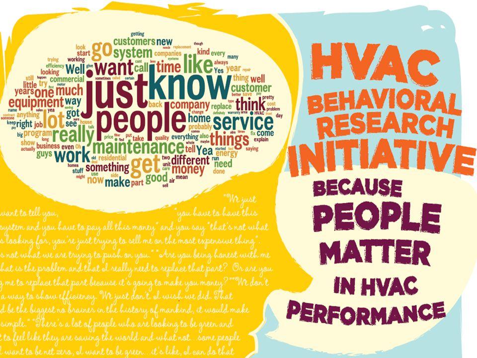 HVAC Behavioral Research Initiative