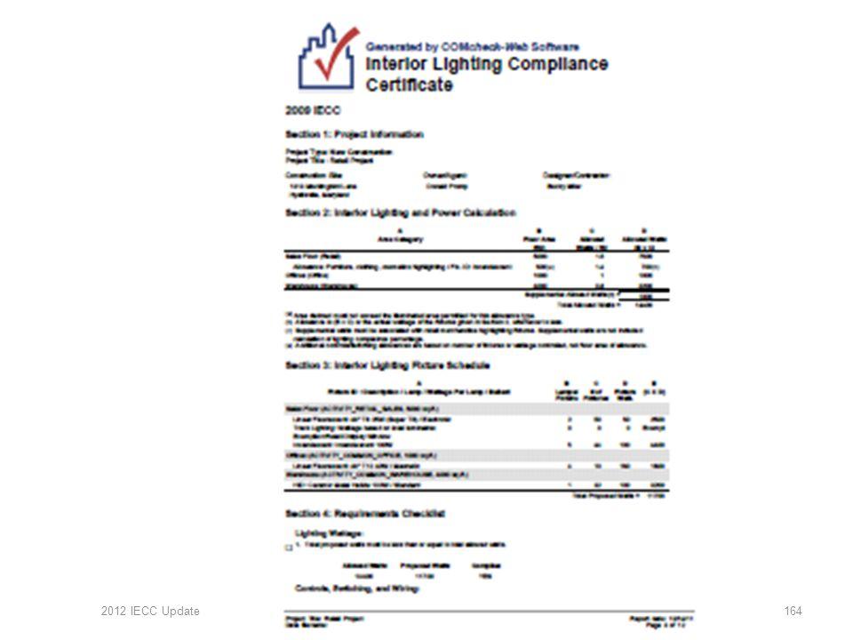 2012 IECC Update164
