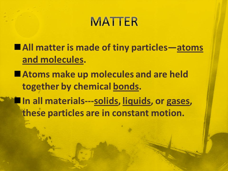The sum of the kinetic and potential energy of all molecules in an object is the thermal energy of the object.