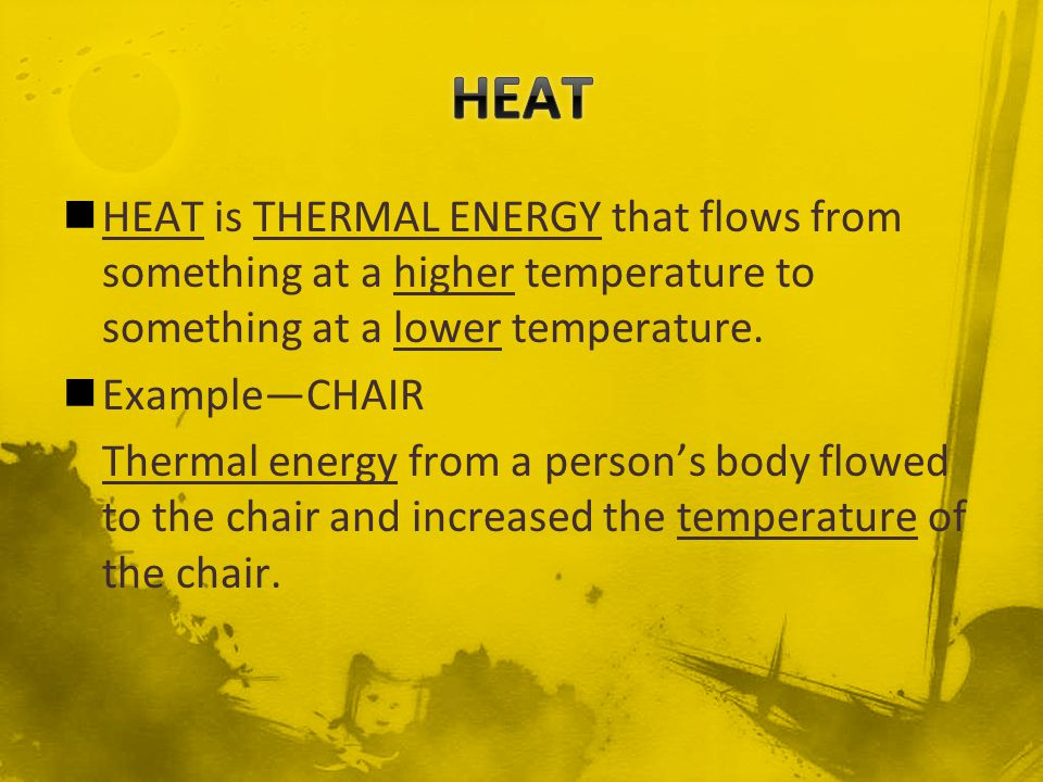 Heat is a form of energy, so it is measured in joulesthe same unit that energy is measured in.
