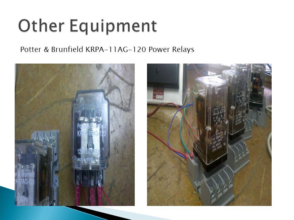 Potter & Brunfield KRPA-11AG-120 Power Relays