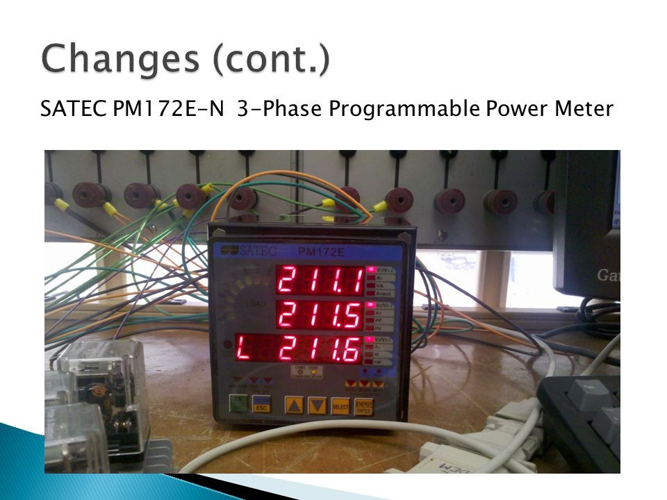 SATEC PM172E-N 3-Phase Programmable Power Meter