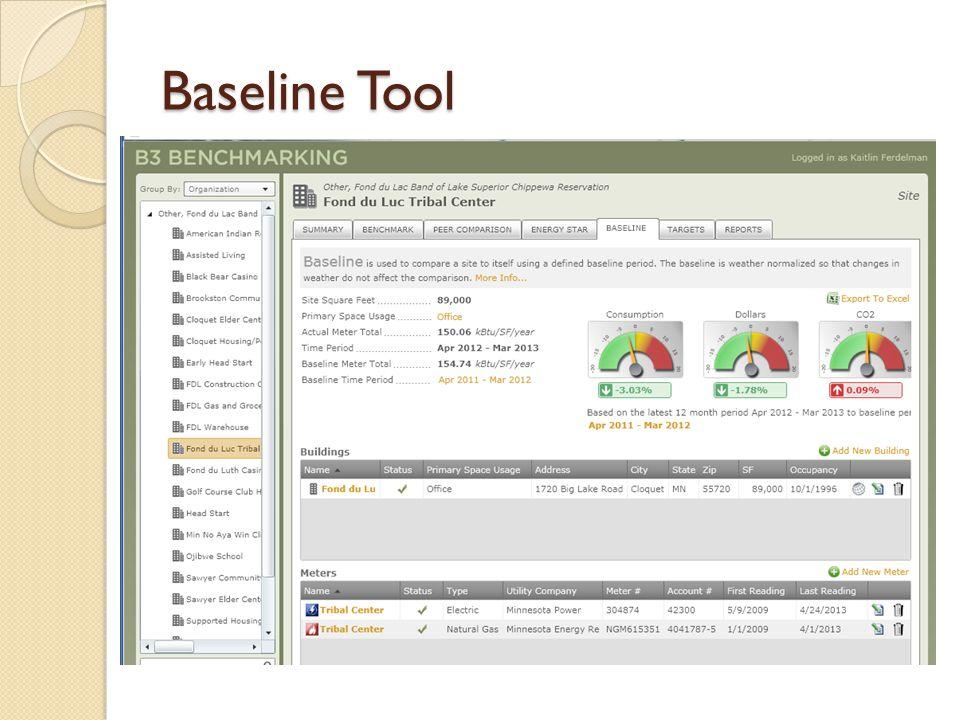 Baseline Tool