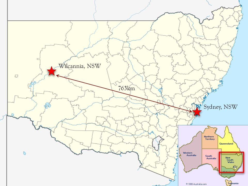 Wilcannia, NSW Sydney, NSW 763km