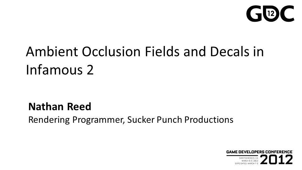 AO Fields: Precomputing