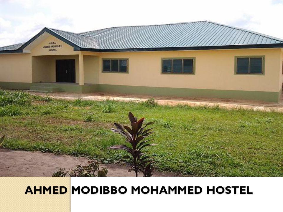 AHMED MODIBBO MOHAMMED HOSTEL