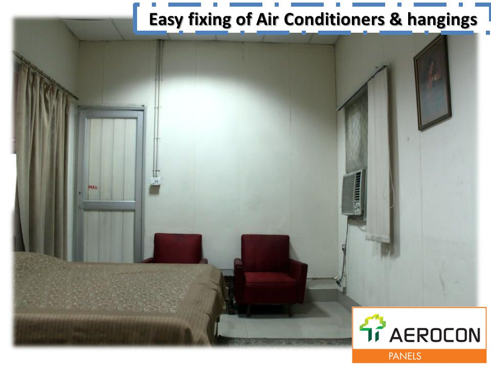 Easy fixing of Air Conditioners & hangings