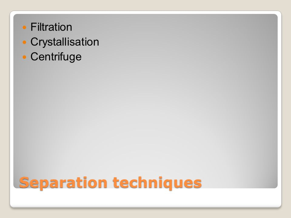 What is filtration Filtration is used the separate colloids from a suspension.