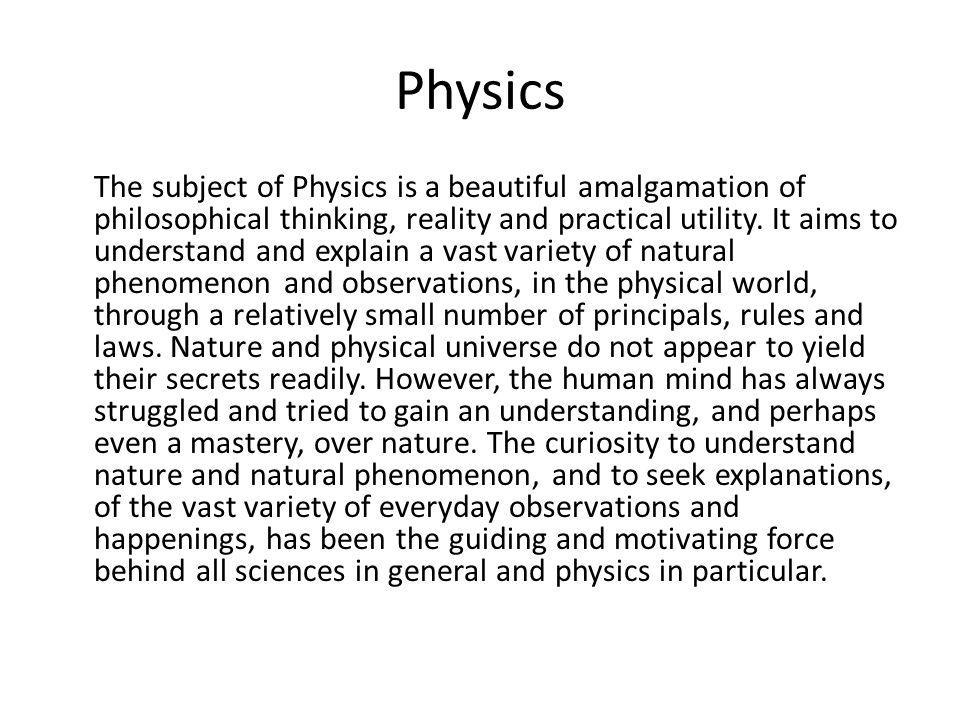 Physics Concept Unit 9 i) Atomic / molecular nature of matter microscopic events or happening control macroscopic behavior.