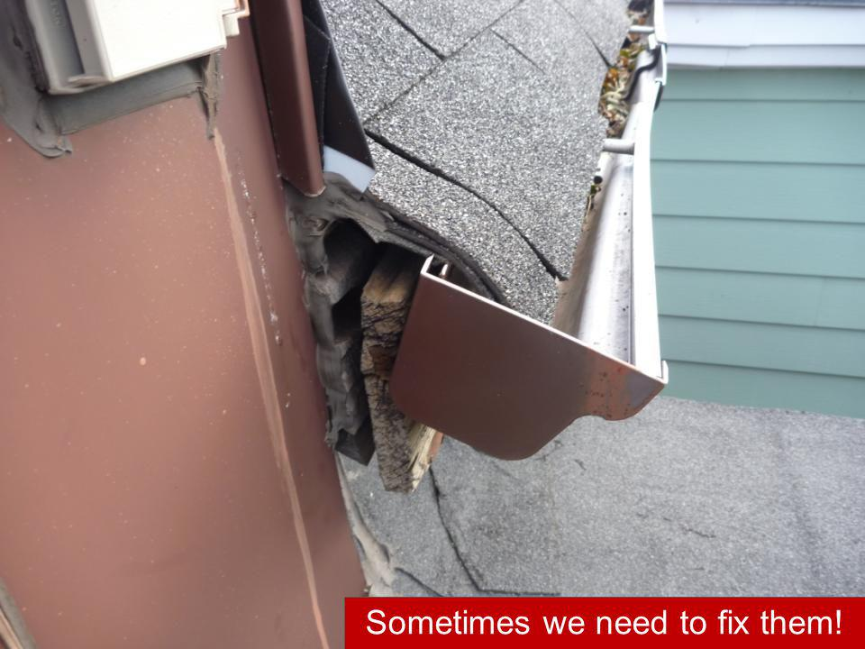Sometimes we need to fix them!