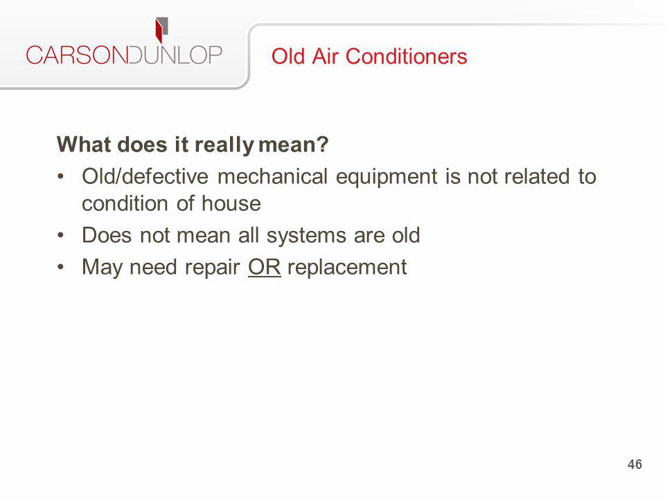 47 Old Air Conditioners
