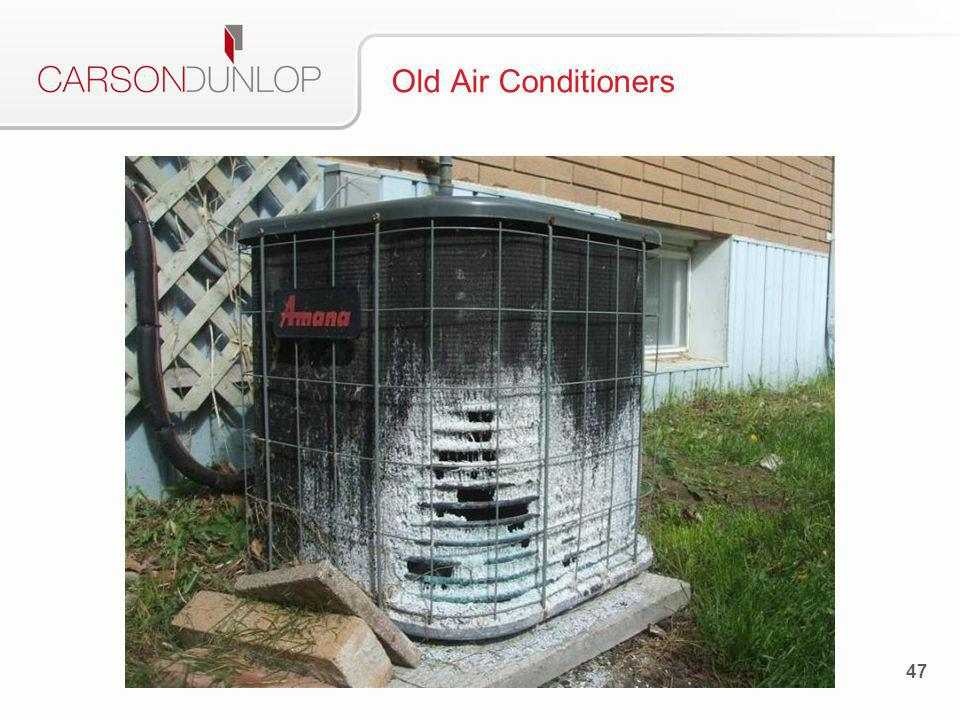 48 Old Air Conditioners