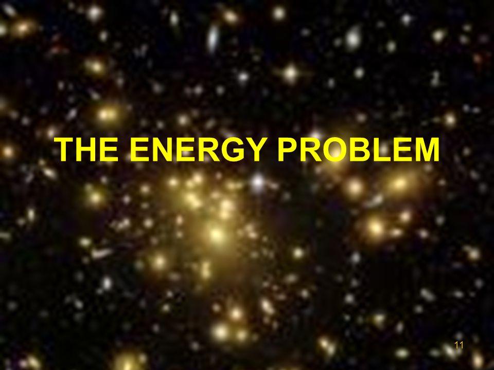 THE ENERGY PROBLEM 11