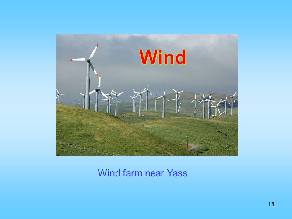 18 Wind farm near Yass