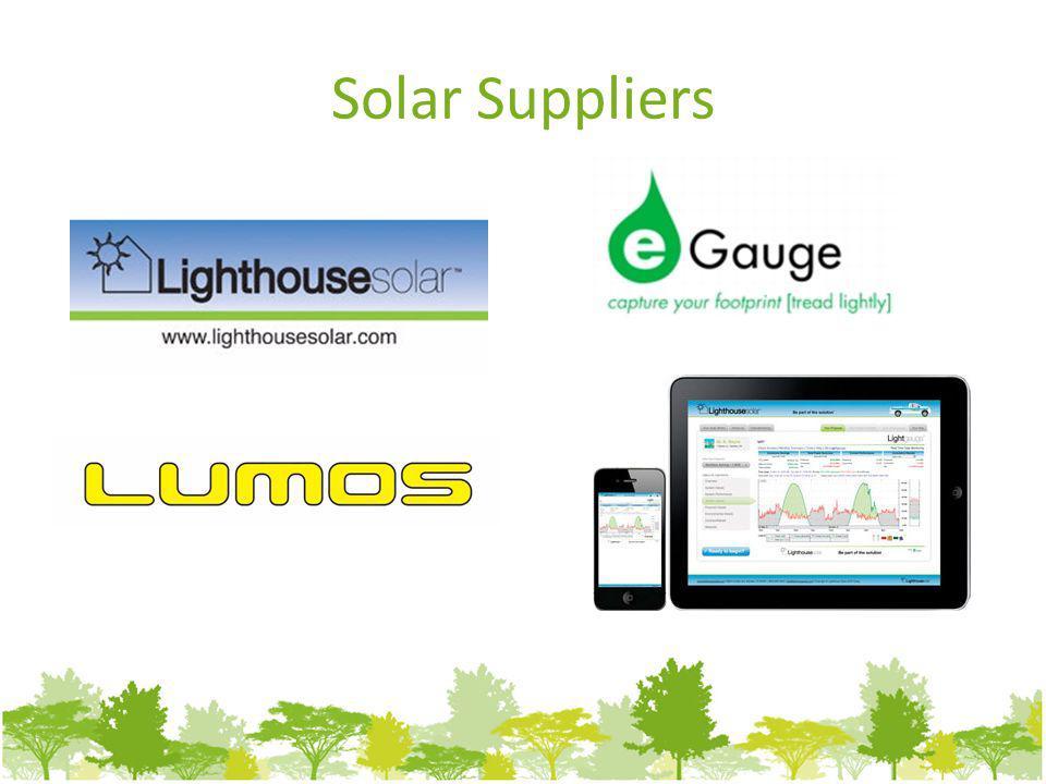 Solar Suppliers