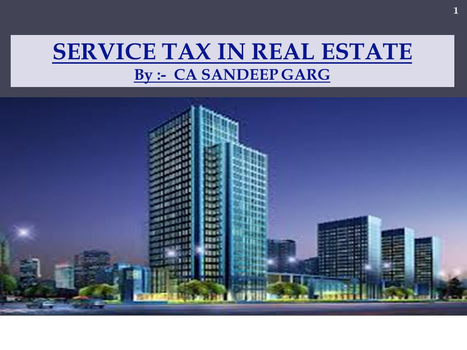 S.NoChargesRate of Service tax 9.