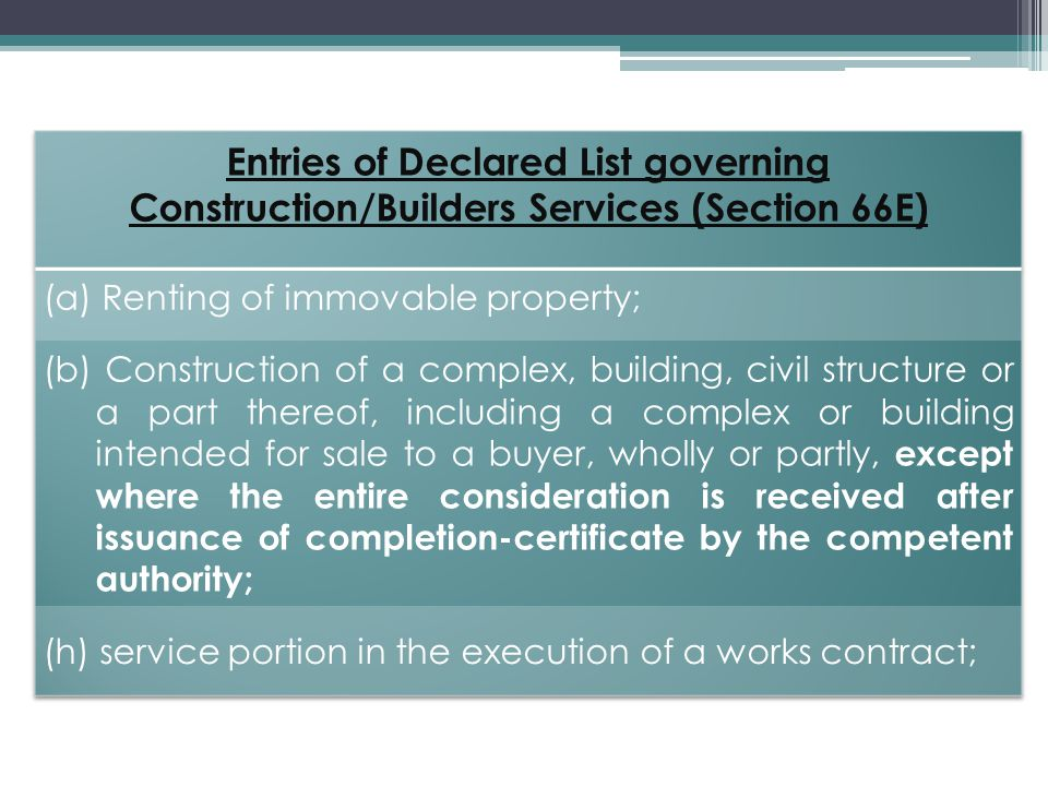 Services provided by way of construction of road meant for use by general public is Exempted from payment of Service Tax.