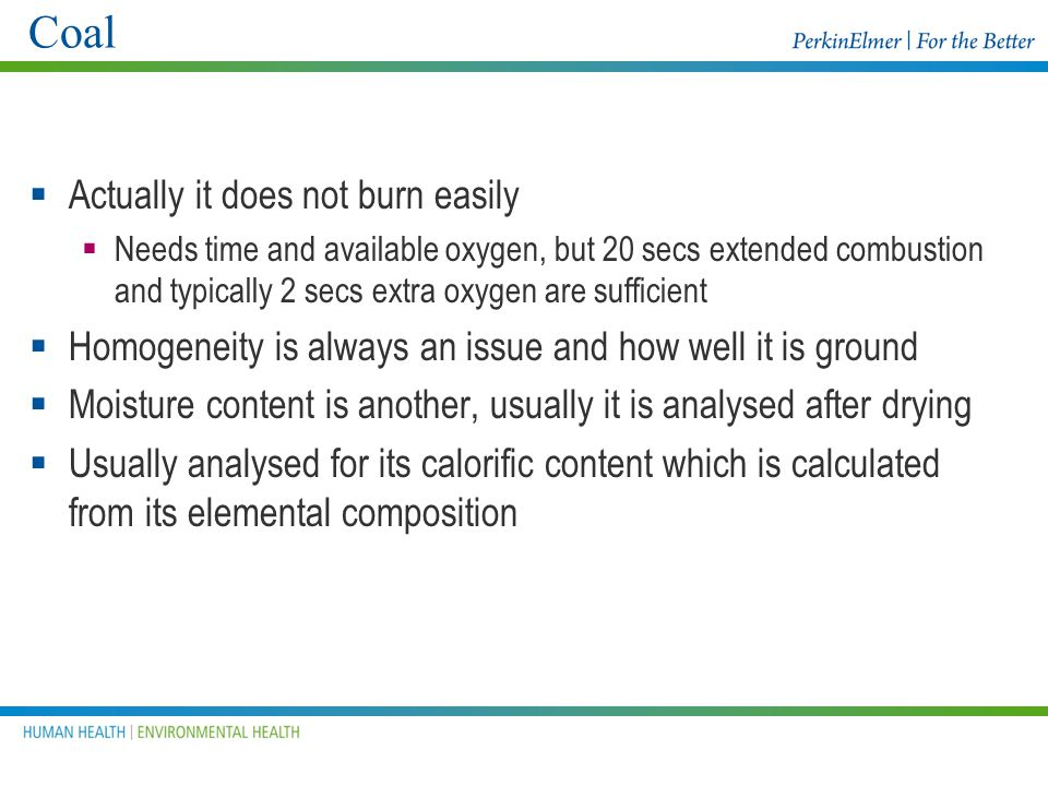 Low combustible (carbon) content SOILS Soils work well on the 2400 because higher wts can be used and the furnace conditions can be optimised to burn