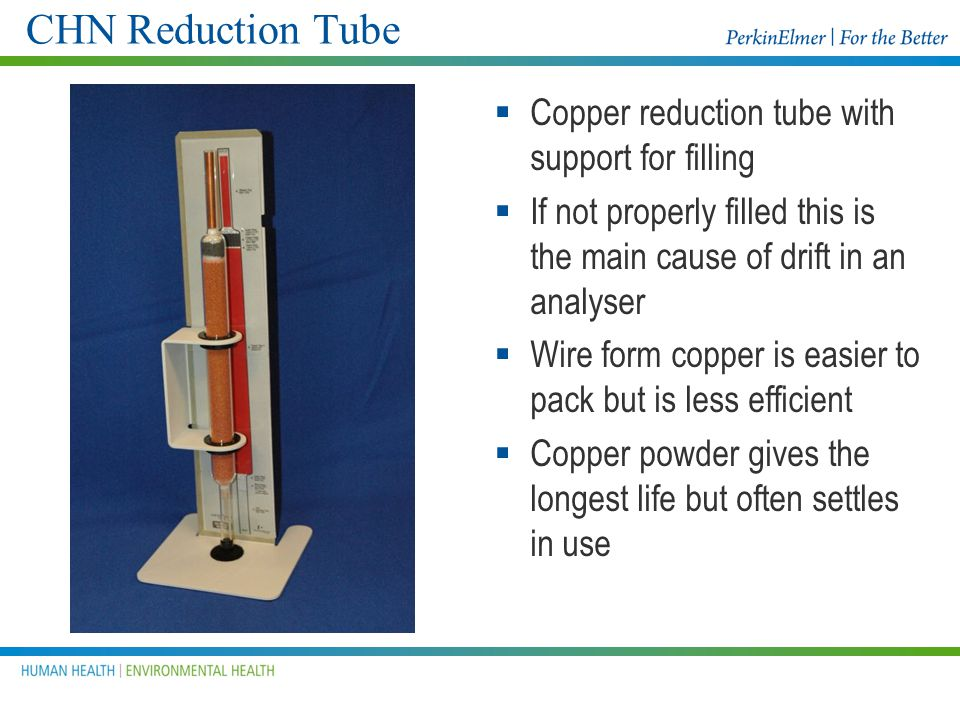 Filter Disks Install Filter disks on both sides of the cross- over and at the top of the Reduction tube This will help in keeping the cross-over and t