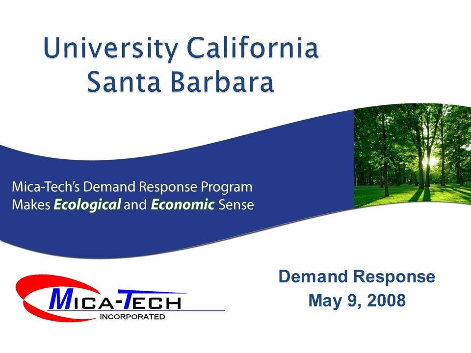 Demand Response May 9, 2008