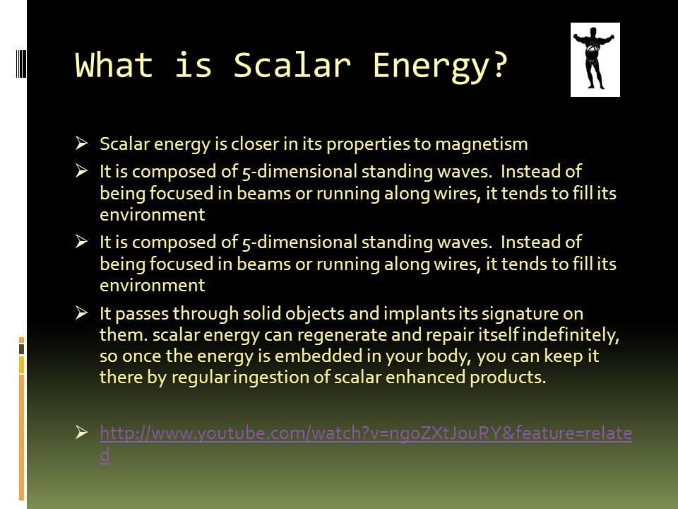 What is Scalar Energy