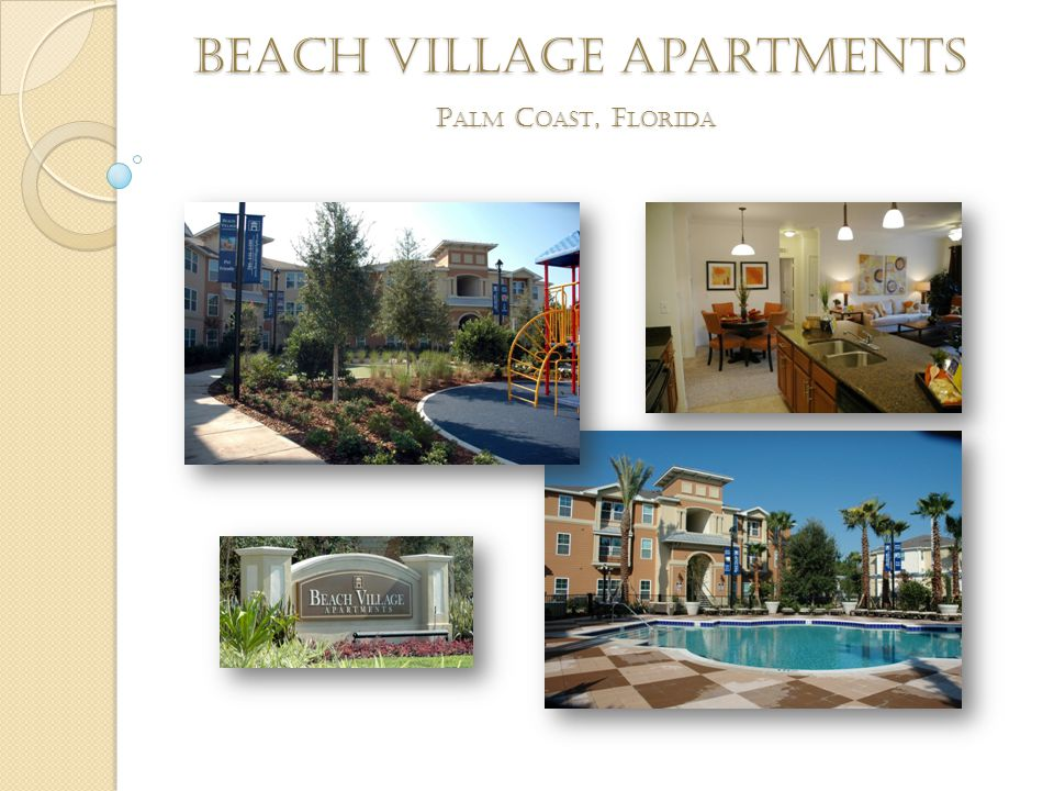 Beach Village apartments P ALM C OAST, F LORIDA