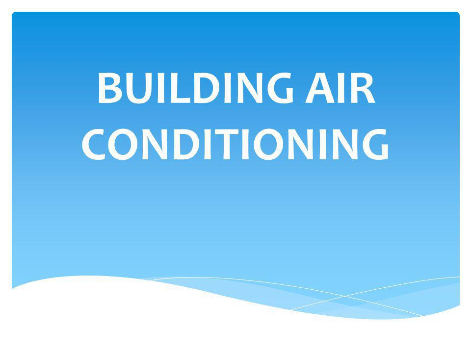 SELECTING HVAC EQUIPMENT Four Areas of Concern: 1.