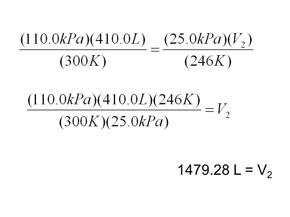 1479.28 L = V 2