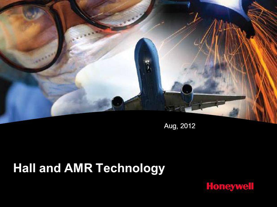 Hall and AMR Technology Aug, 2012
