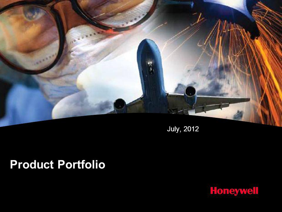 Product Portfolio July, 2012