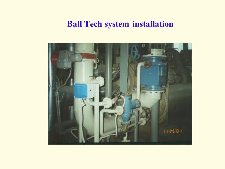 Ball Tech system installation