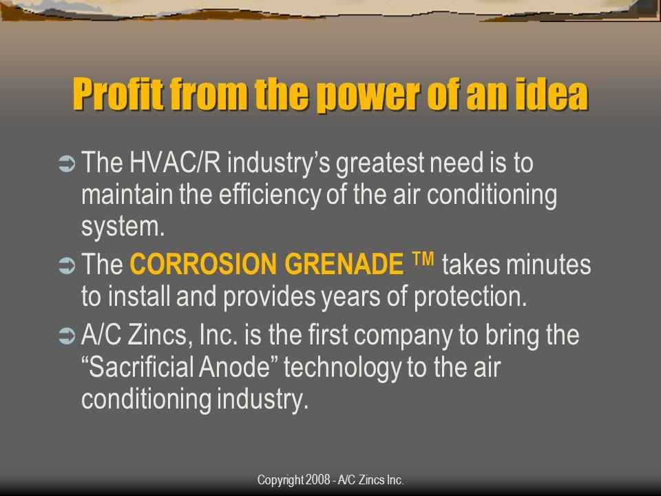 Copyright 2008 - A/C Zincs Inc.