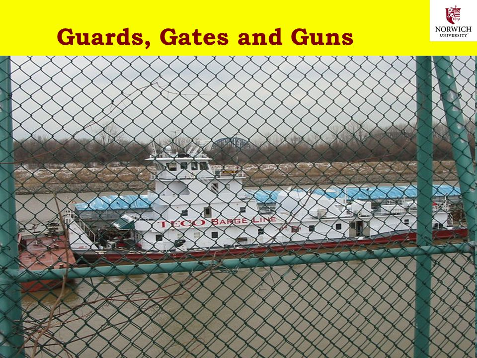 20 Copyright © 2013 M. E. Kabay. All rights reserved. Guards, Gates and Guns