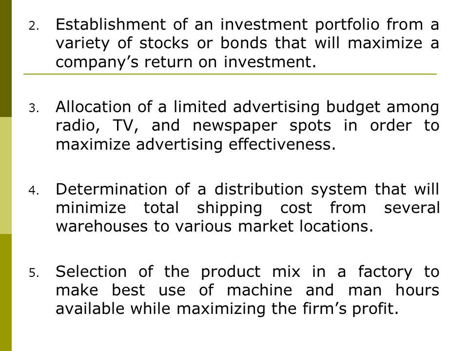 point a: (X 1 = 0, X 2 = 0)profit = ($7)(0) + ($5)(0) = $0 point b: (X 1 = 0, X 2 = 8)profit = ($7)(0) + ($5)(8) = $40 point d: (X 1 = 5, X 2 = 0)profit = ($7)(5) + ($5)(0) = $35