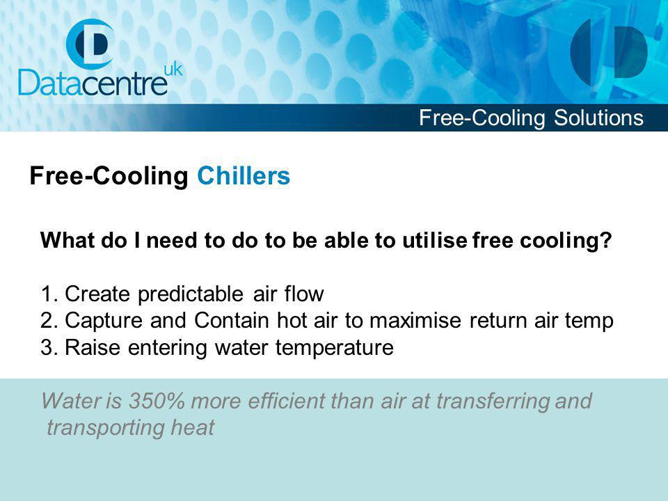 What do I need to do to be able to utilise free cooling.