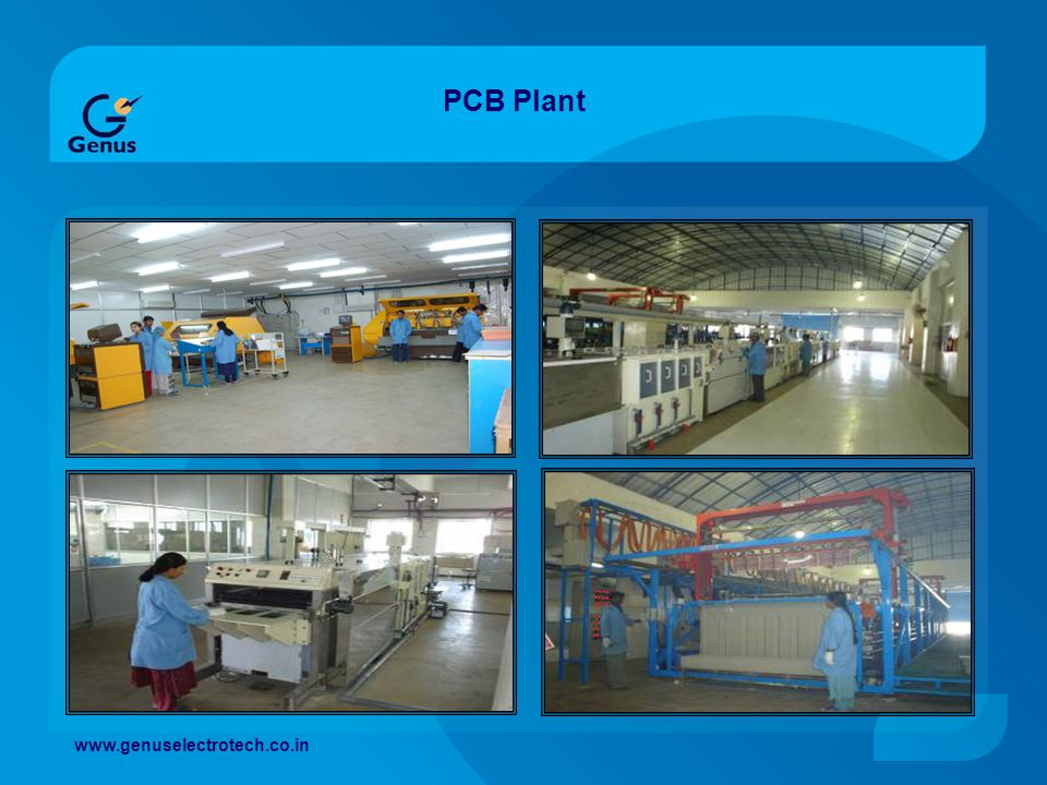 PCB Plant www.genuselectrotech.co.in