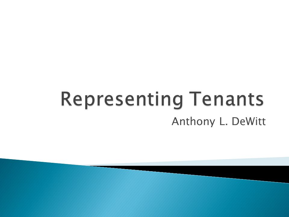In every lease of residential premises there is an implied covenant of habitability.