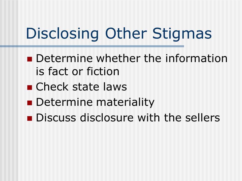 AIDS Disclosure Fair housing concerns HUD position National Association of R EALTORS ® position