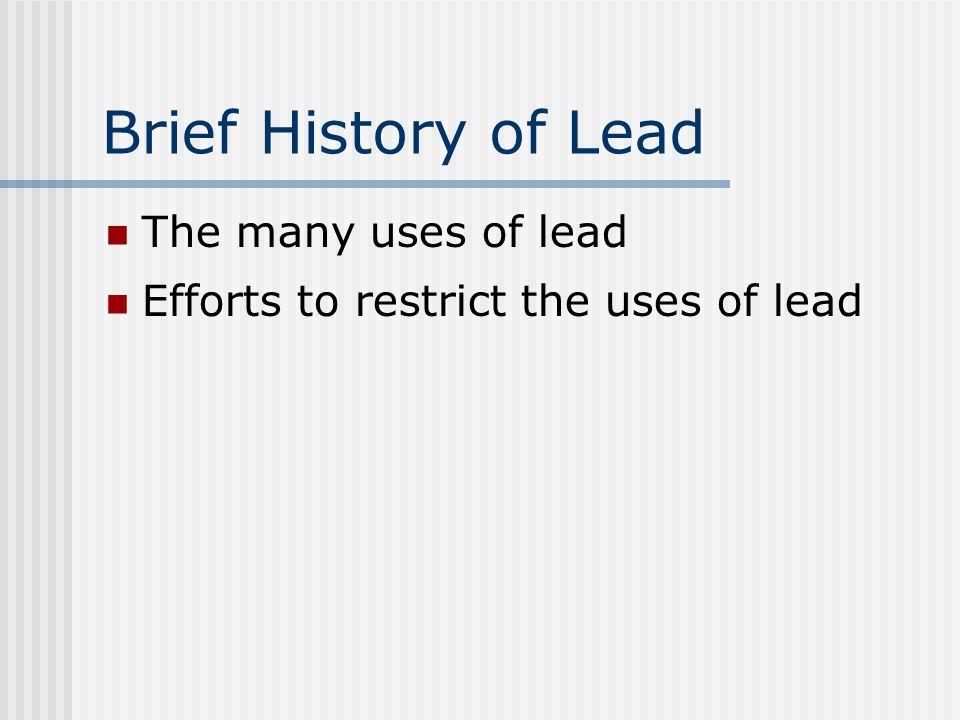 Lead Poisoning in Adults Lead in drinking water Pregnant women Symptoms in adults
