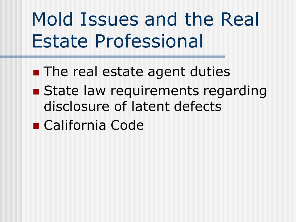Mold in My Home: What Do I Do. How can I tell if I have mold.